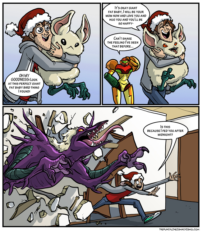 Samus And Ridley Fanfiction Manly guys doing manly things » bye bye ...