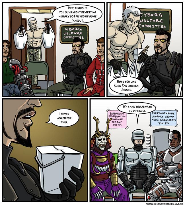 Not many cyborgs do