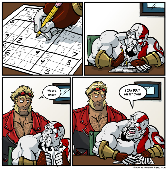 I bet Kratos could beat a Portal maze