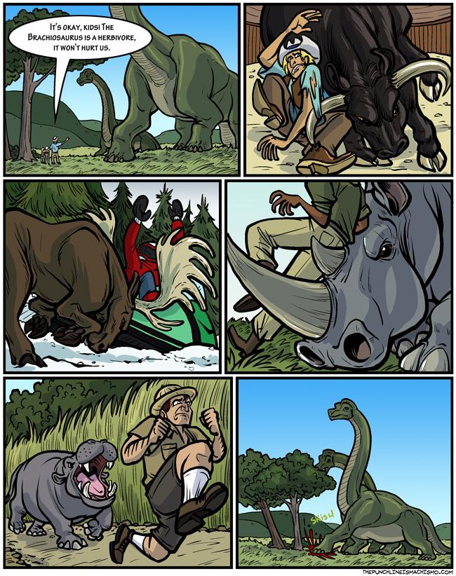 When Herbivores Attack