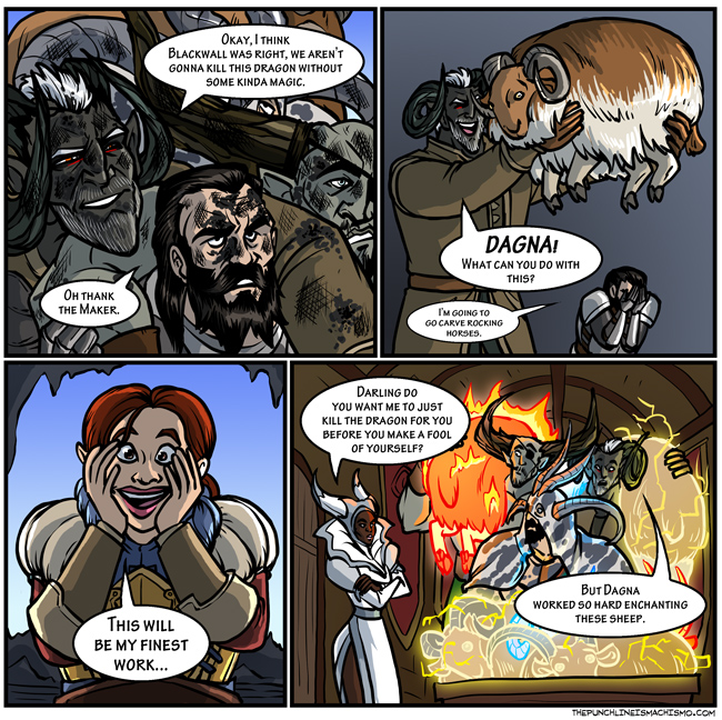 Continued Goatmancer adventures
