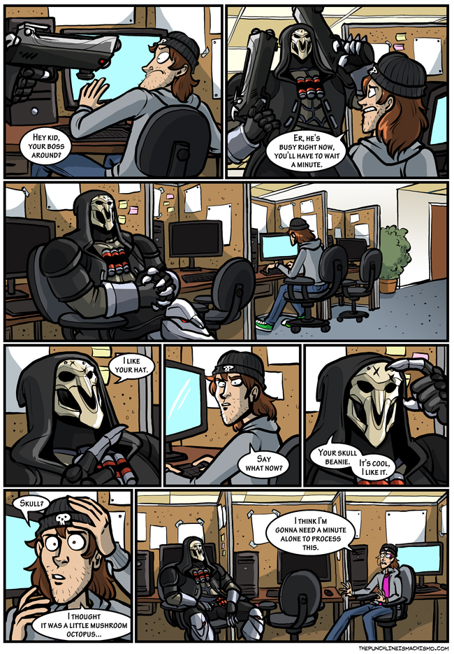 Reaper has a chill day