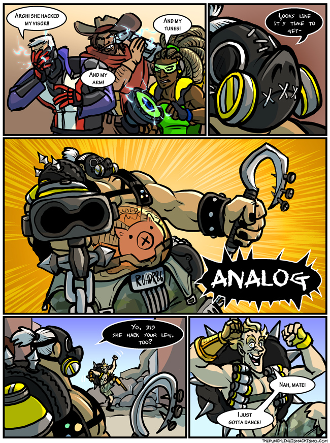 I hope this can cheer up my Junkrat friend.